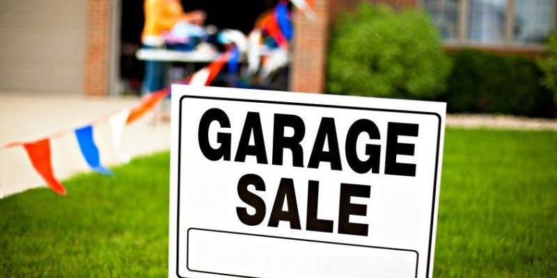 Tips for Garage Sale before Moving