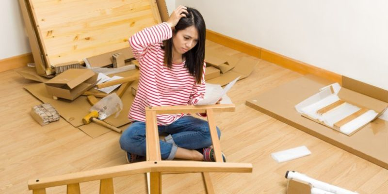 Furniture assembly tips
